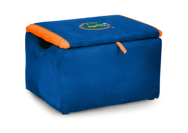 University of Florida Two-tone Storage Bench