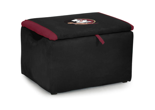 Florida State University Two-tone Storage Bench