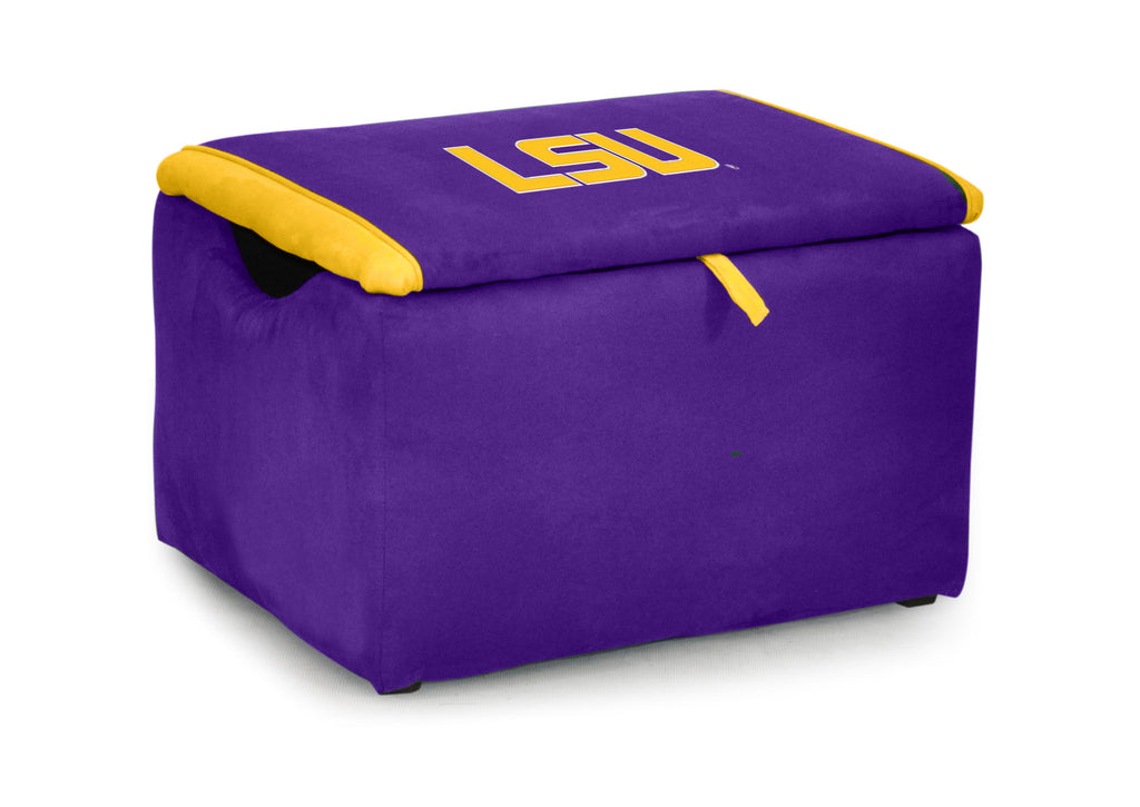 Louisiana State University Two-tone Storage Bench