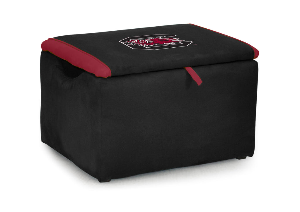 University of South Carolina Two-tone Storage Bench