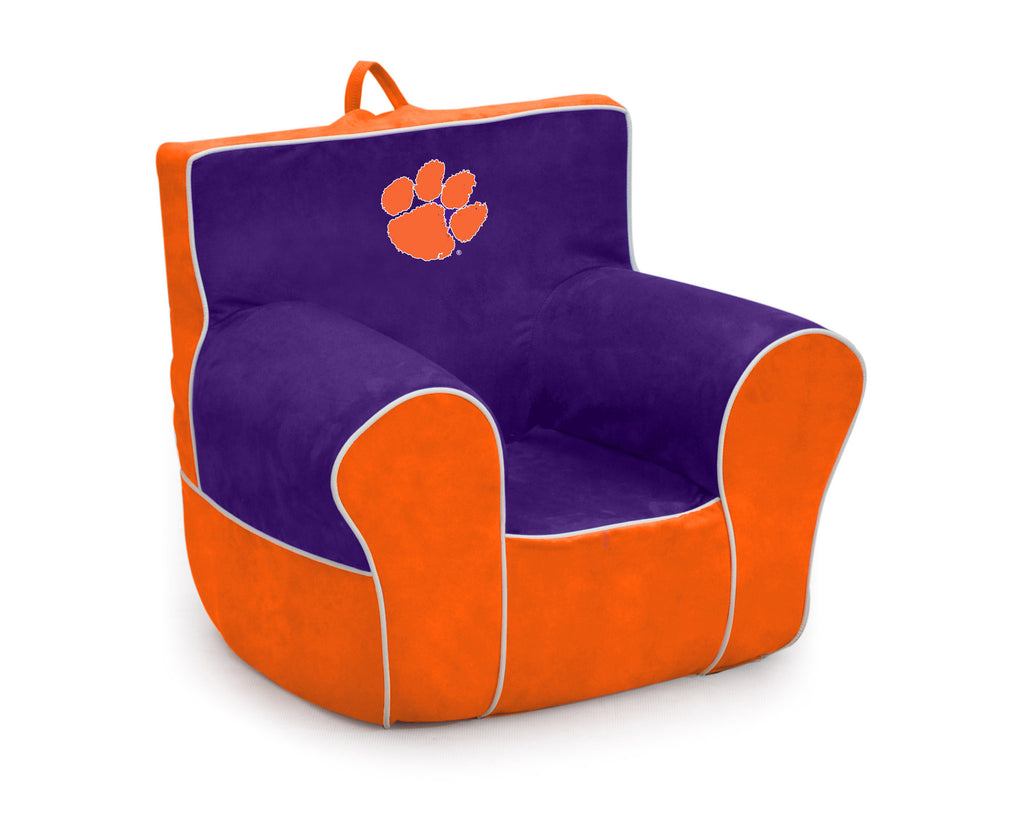 Clemson University Two-tone Kid's Foam Tag Along Chair