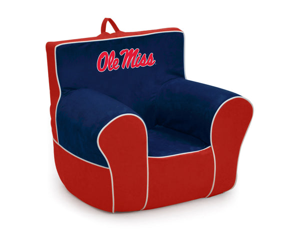 University of Mississippi (Ole Miss) Two-tone Kid's Foam Tag Along Chair