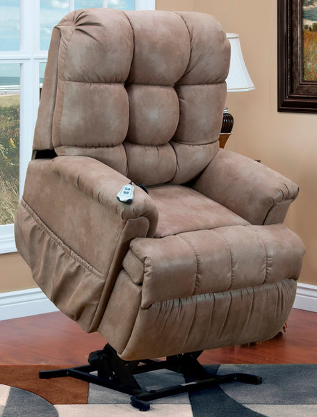 Petite Wall-a-Way Reclining Lift Chair in Stampede Mocha