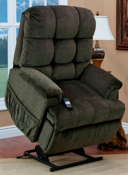 Sleeper/Reclining Lift Chair in Cabo Godiva