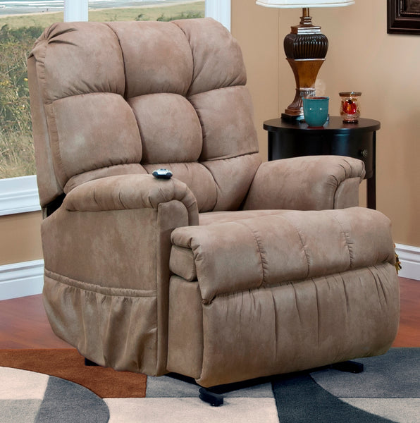 Petite Sleeper/Reclining Lift Chair in Cabo Mocha