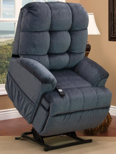 Sleeper/Reclining Lift Chair in Cabo Elemental Blue