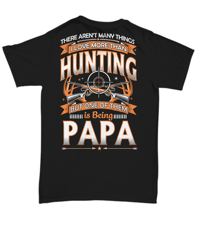 Papa Loves to Hunt