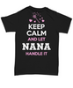 NANA Keep Calm