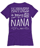 HAPPY BEING NANA - Women's