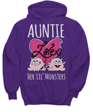 AUNTIE Loves Her Lil' Monsters - Hoodies