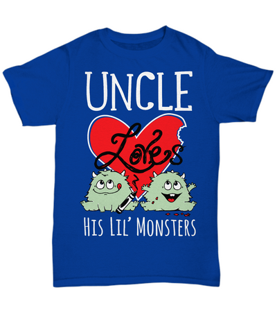 UNCLE Loves His Lil' Monsters