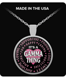 GAMMA THING - Necklace