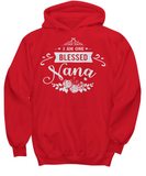 BLESSED NANA - Hoodies