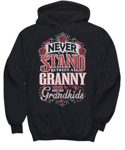 Granny and Her Grandkids - Hoodies