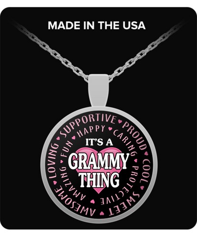 GRAMMY THING - Necklace