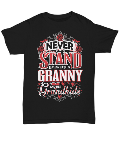 Granny and Her Grandkids - T-shirts