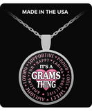 GRAMS THING - Necklace