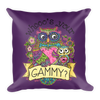 """Whooo's Your Gammy"" Throw Pillow"