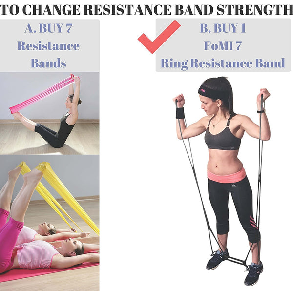 FOMI 7 Ring Resistance Exercise Band - FoMI Care