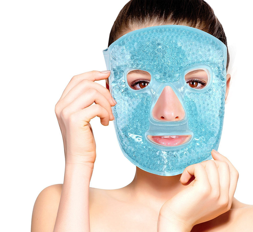 masque facial gel