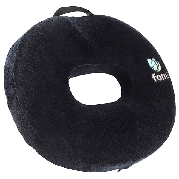 "FOMI Thick Donut Memory Foam Seat Cushion | 18"" x 16"" x 3.5"" - FoMI Care"