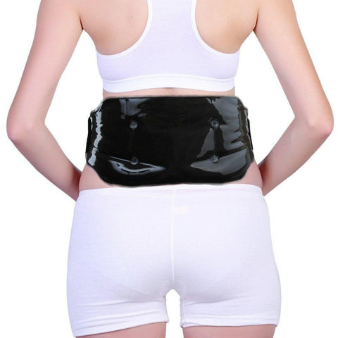 FOMI Cold Therapy Lower Back Clay Ice Pack | Includes Elastic Strap