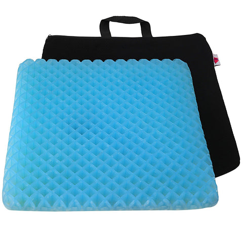 "FOMI Gel Orthopedic Seat Cushion Pad | 15"" x 15"" - FoMI Care"
