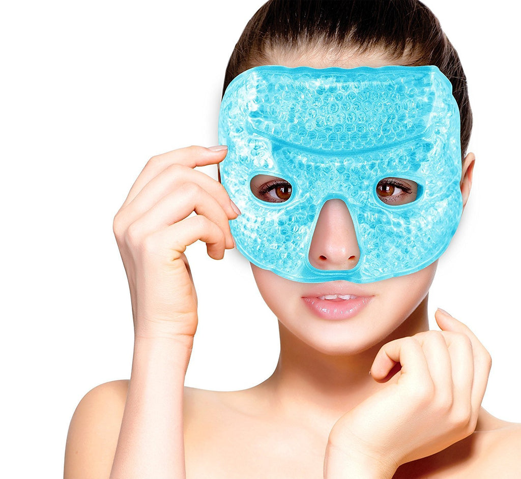 FOMI Hot Cold Gel Bead Facial Eye Mask - FoMI Care
