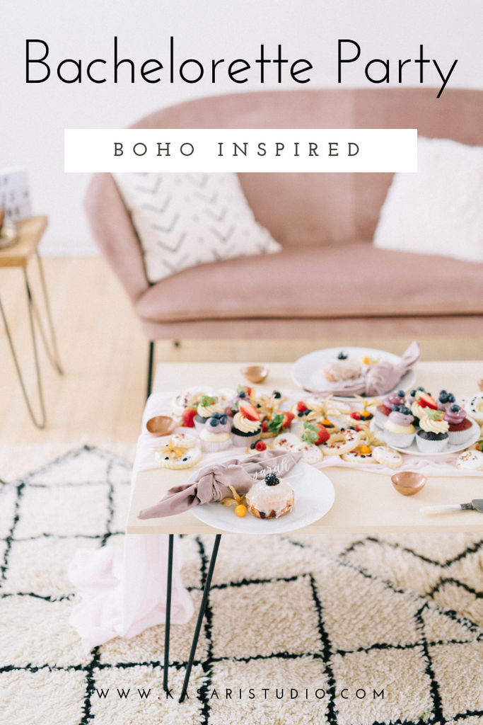 A Boho Bachelorette party with Kasari