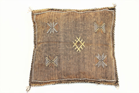 Brown Sabra Pillow - kasari