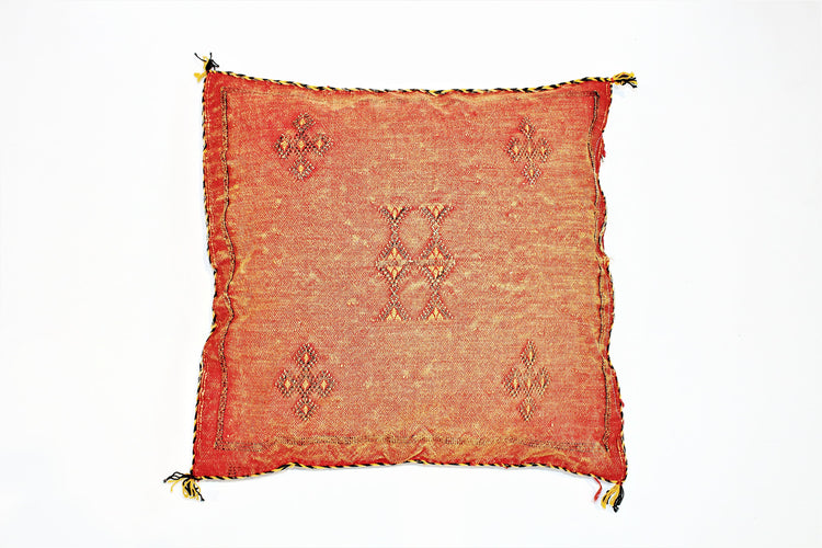 Red Sabra Pillow - kasari
