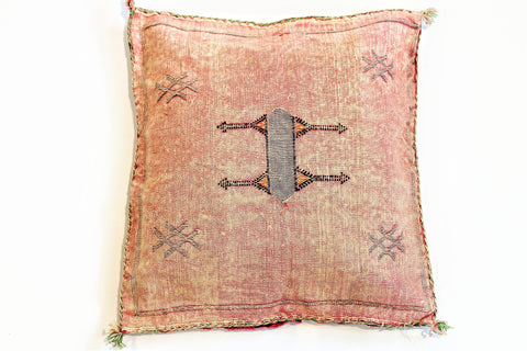 Pink Sabra Pillow - kasari
