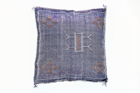 Purple Sabra Pillow - kasari