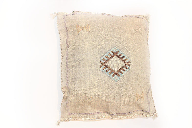 Grey Sabra Pillow - kasari
