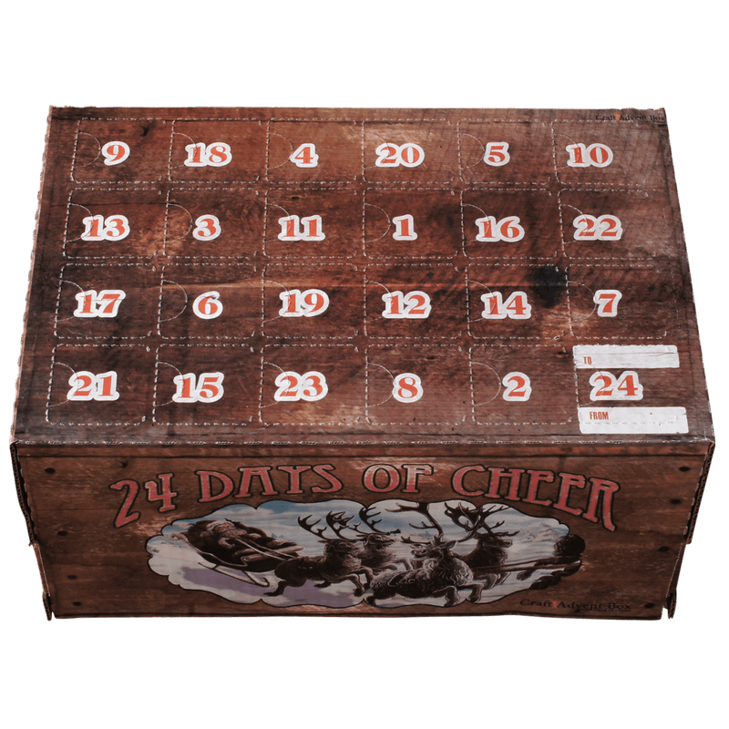 On Hold - Vintage Crate Advent Calendar