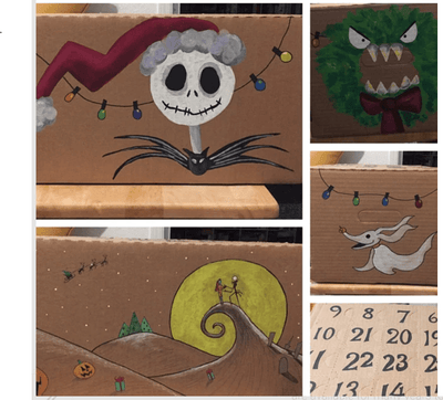 DYO - Decorate Your Own Craft Advent Calendar Kit