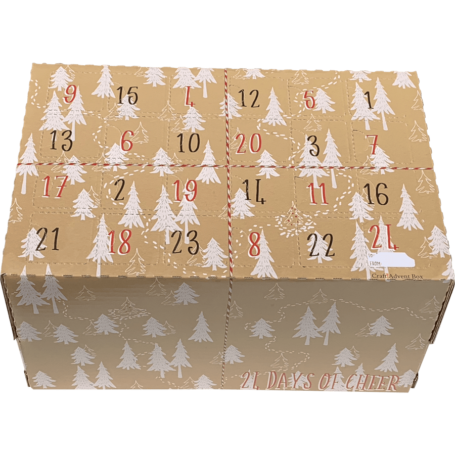 V1 - Simple Trees Craft Advent Calendar