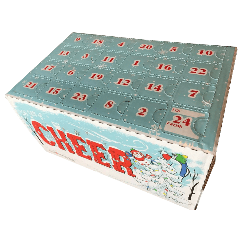 Advent Calendar Boxes are Back for !! What is a Craft Beer Cellar Advent Calendar Box? It's a full case of 24 individually wrapped and numbered craft beers, each hand selected by the Beer Geeks at Craft Beer Cellar.