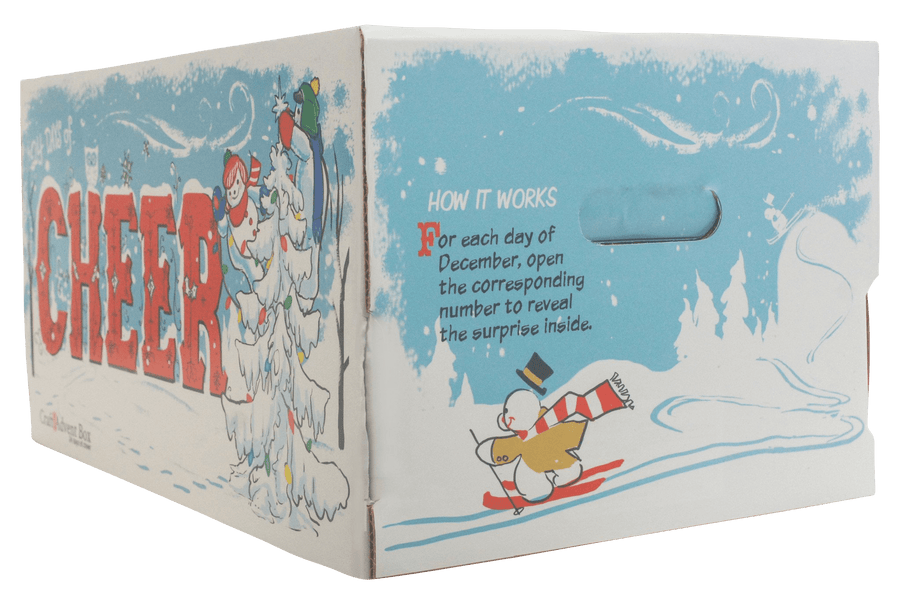 Snowmen Craft Advent Calendar