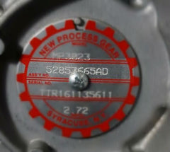 Transfer Case Assembly Tag