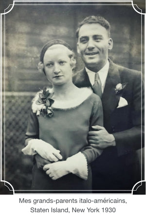 My Italian-American grandparents, Staten Island 1930