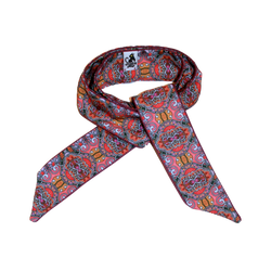 Scarf with Art Nouveau motives
