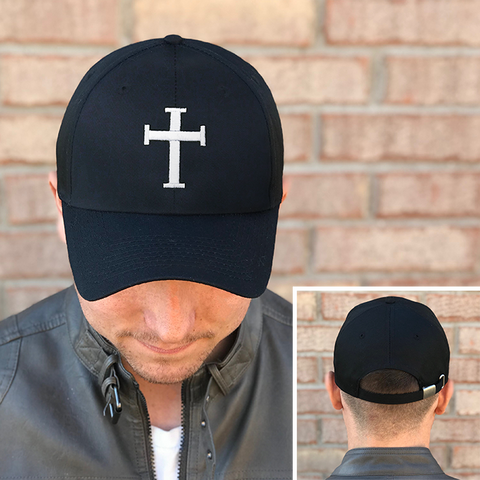 Broken Heart Cross Hat