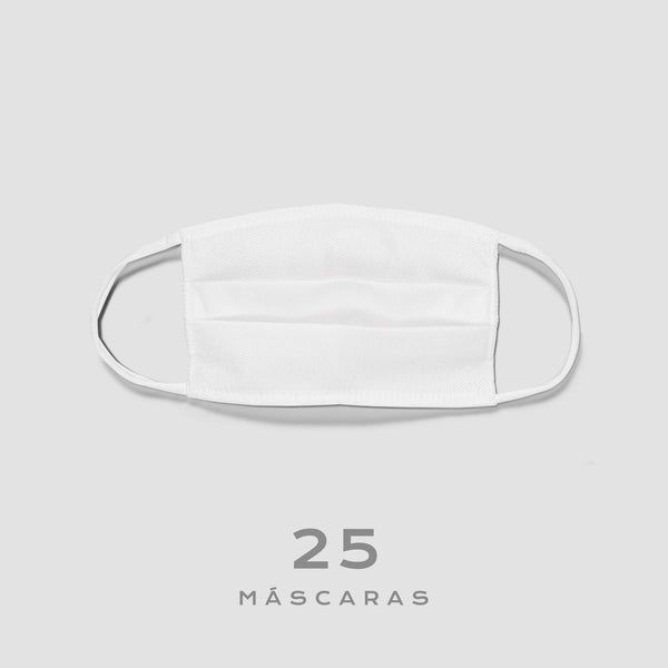 Doe 25 máscaras