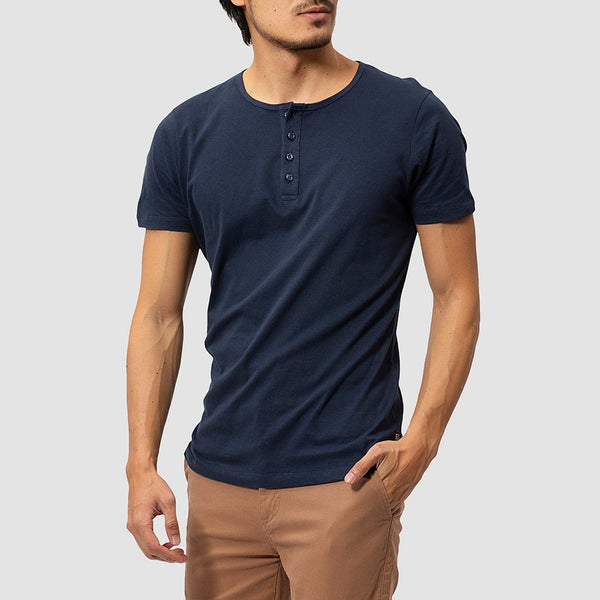 Kit Henley Azul