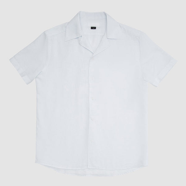 Camisa Camp Collar Off-White