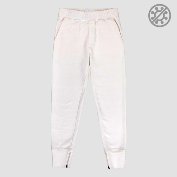 Calça Moletom Antiviral Off White