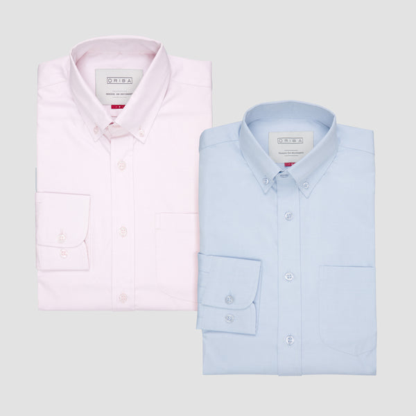 Kit Oxford Rosa & Azul