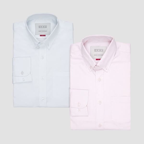Kit Oxford Branco & Rosa - ORIBA