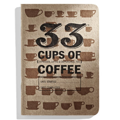 33 Cups of Coffee - Pocket Coffee-Tasting Journal
